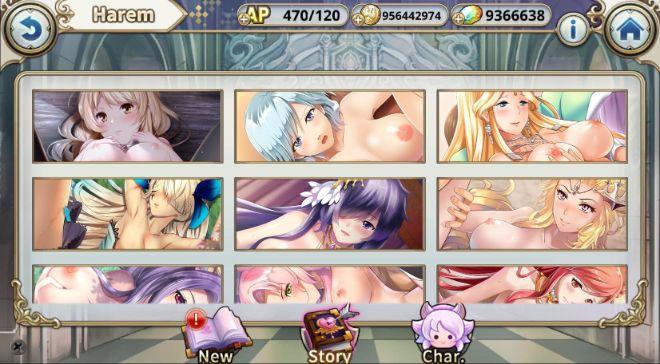 Sacred Sword Princesses babes