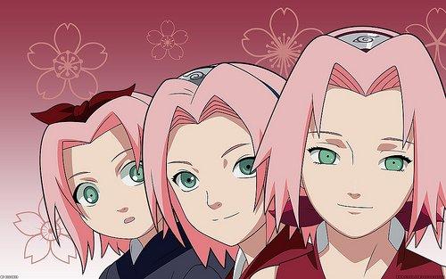 Sakura Haruno kid vs adult