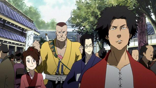 Samurai Champloo anime scene