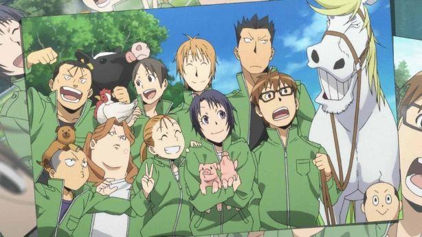 Silver Spoon anime screenshot