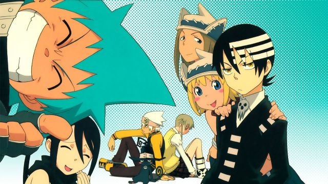 Soul Eater characters miesters