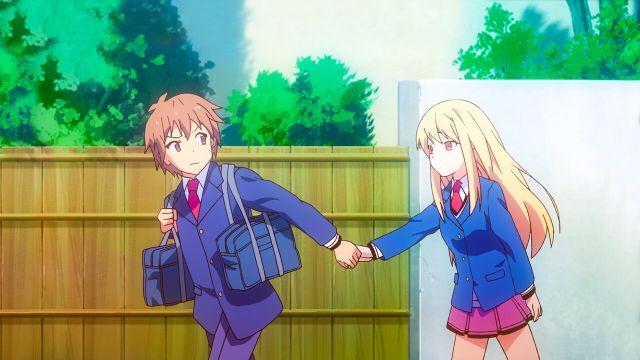 The Pet Girl of Sakurasou romance