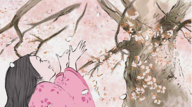 The Tale of the Princess Kaguya 2013 ghibli
