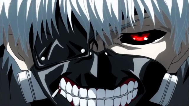 Tokyo Ghoul ghoul face smile