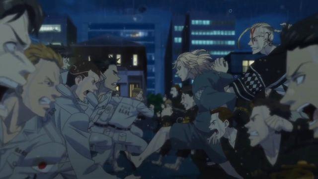 Toman vs Moebius Tokyo Revengers