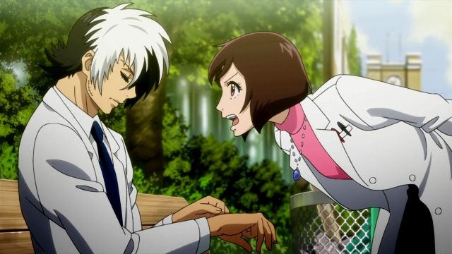 Young Black Jack anime characters