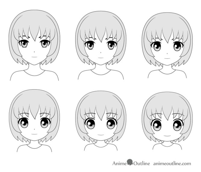 anime art drawing styles pictures 1