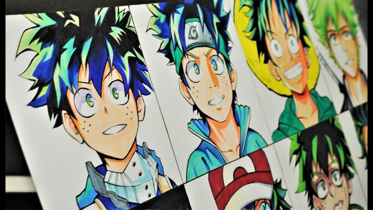 anime art drawing styles pictures 4
