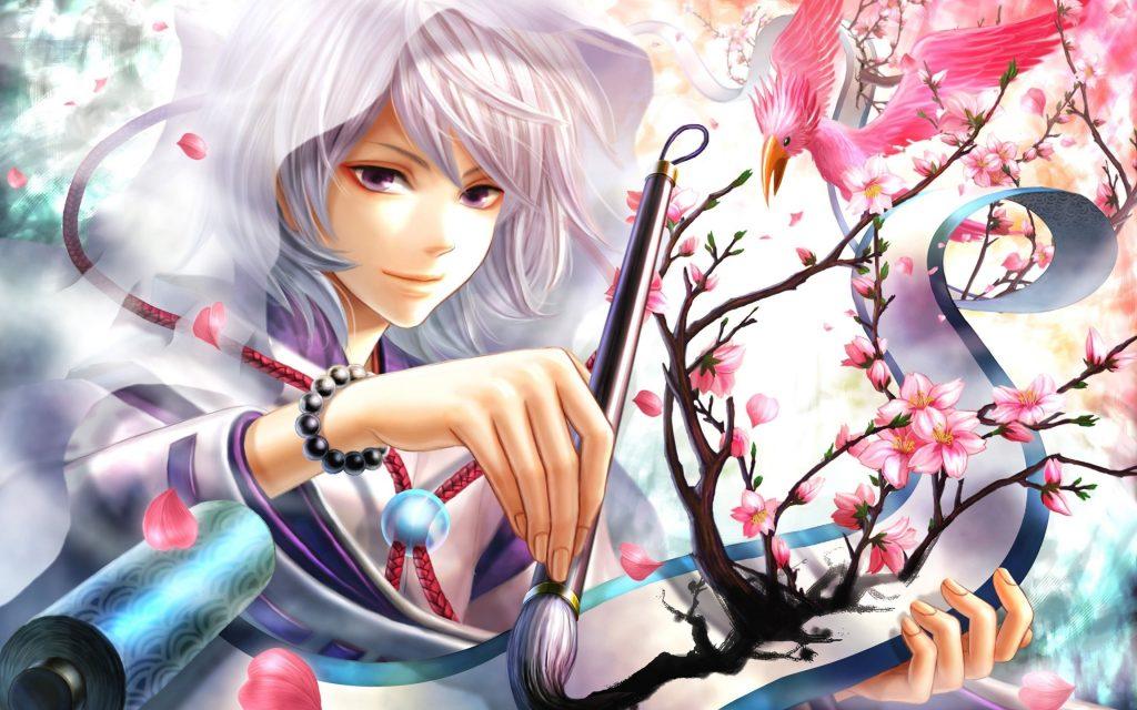 anime boy art style wallpaper