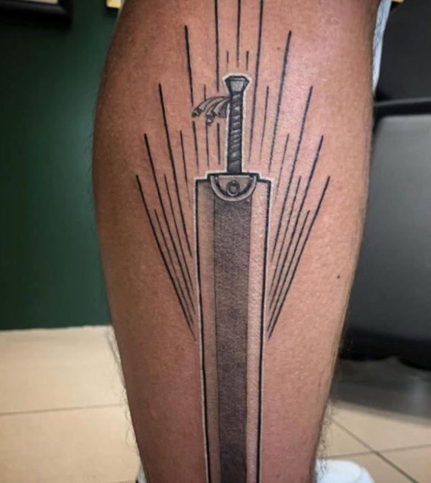 berserk anime tattoo sword