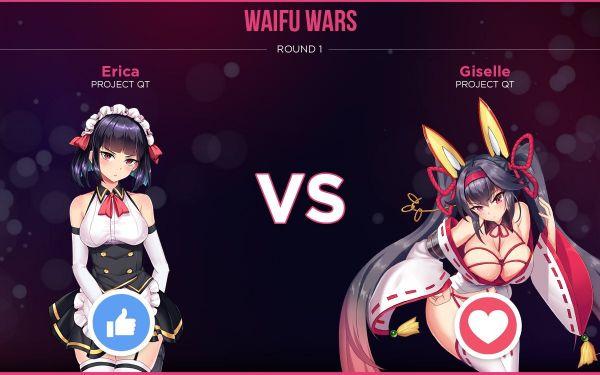 project qt waifu wars