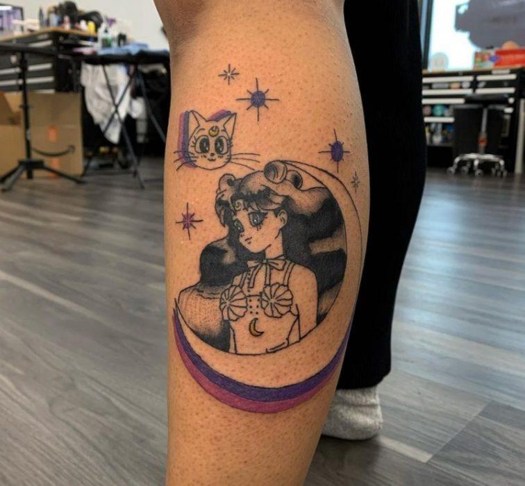 sailor moon tattoo instagram
