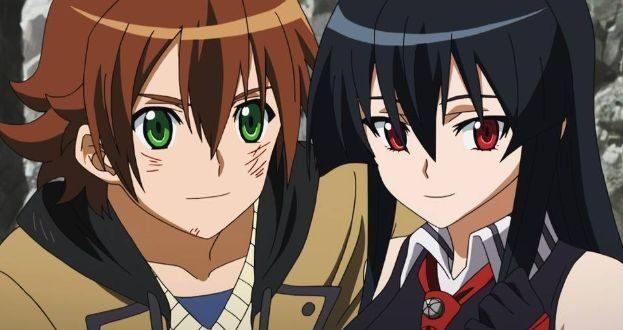 Akame ga Kill Tatsumi and akame scene 1 e1629642570228