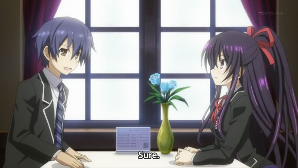 Date A Live couple