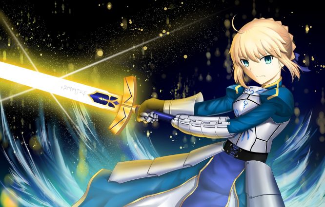 Excalibur Sword of Promised Victory Fate