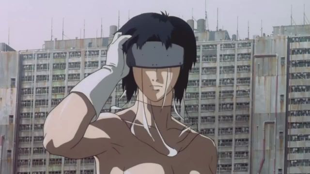 Ghost in the Shell sci fi anime