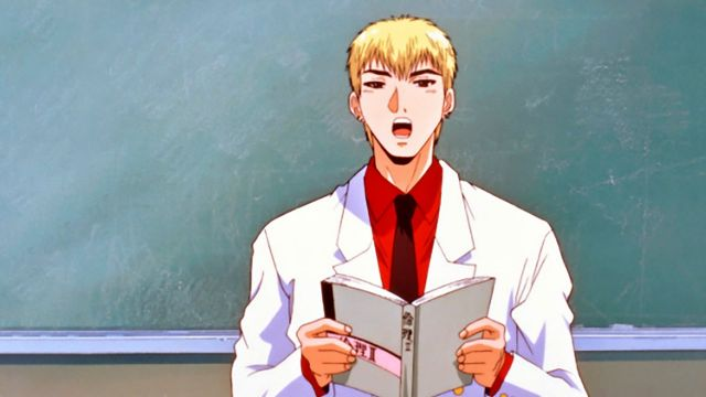 Great Teacher Onizuka notebook school