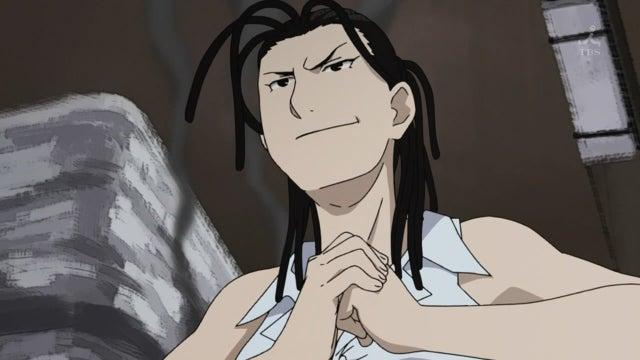 Izumi Curtis Fullmetal Alchemist Brotherhood smug