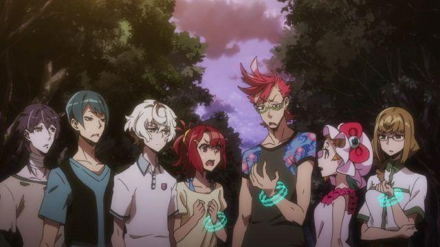 Kiznaiver characters anime scene