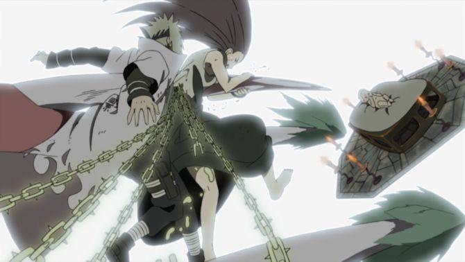 Minato and Kushinas Death