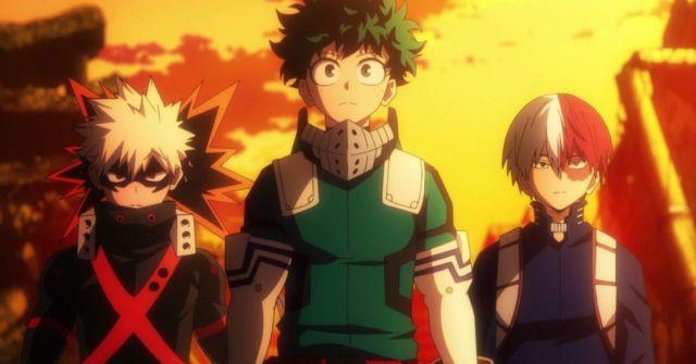 My Hero Academia trio protagonists
