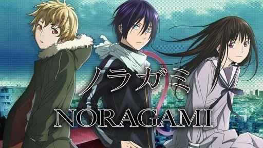 Noragami trio characters