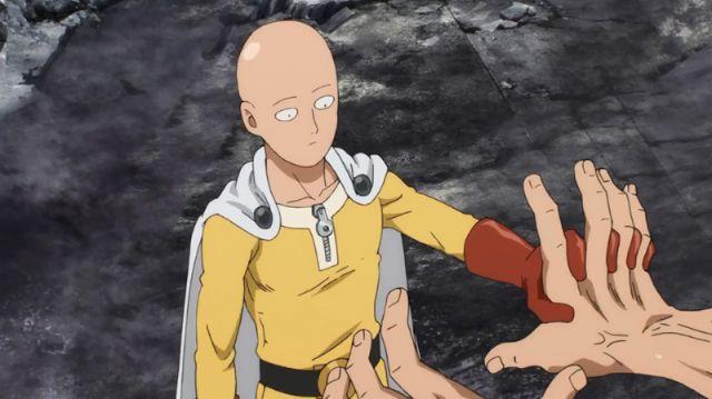 One Punch Man saitama block