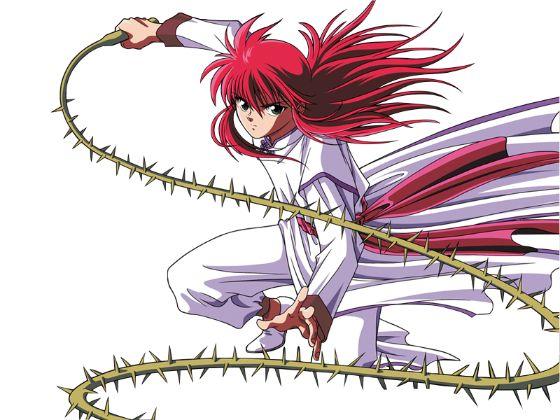 Rose Whip Yu Yu Hakusho