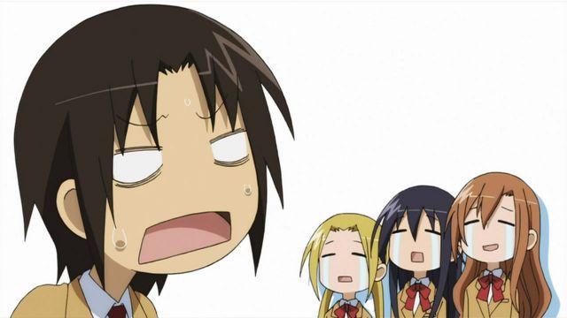 Seitokai Yakuindomo crying faces