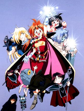 Slayers cover main characters
