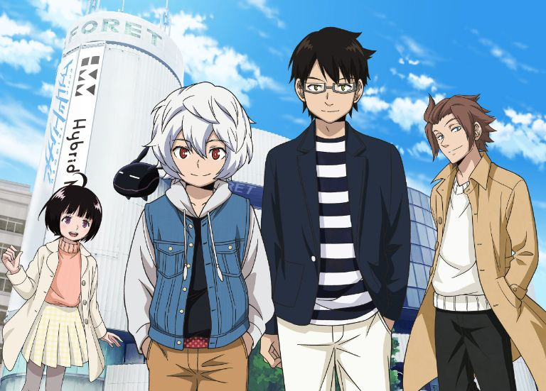World Trigger anime characters