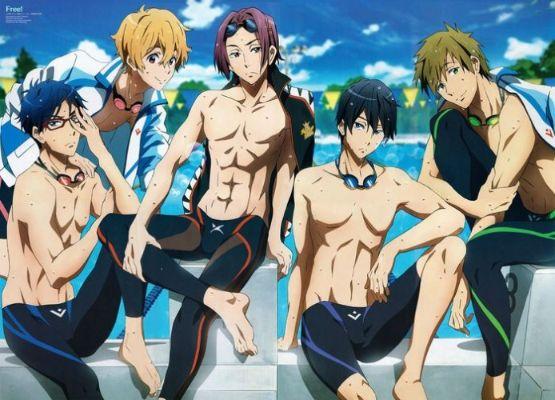 anime boys FREE series