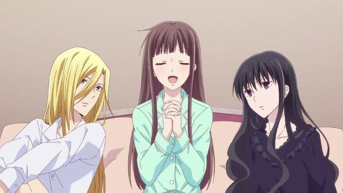 fruits basket anime girls