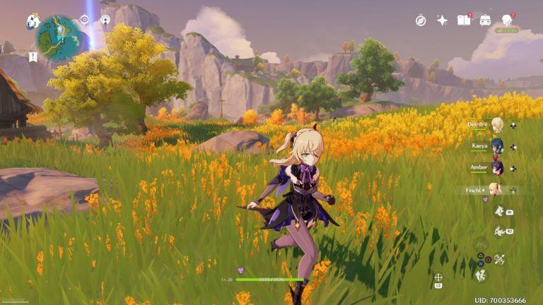 genshin impact gameplay 1