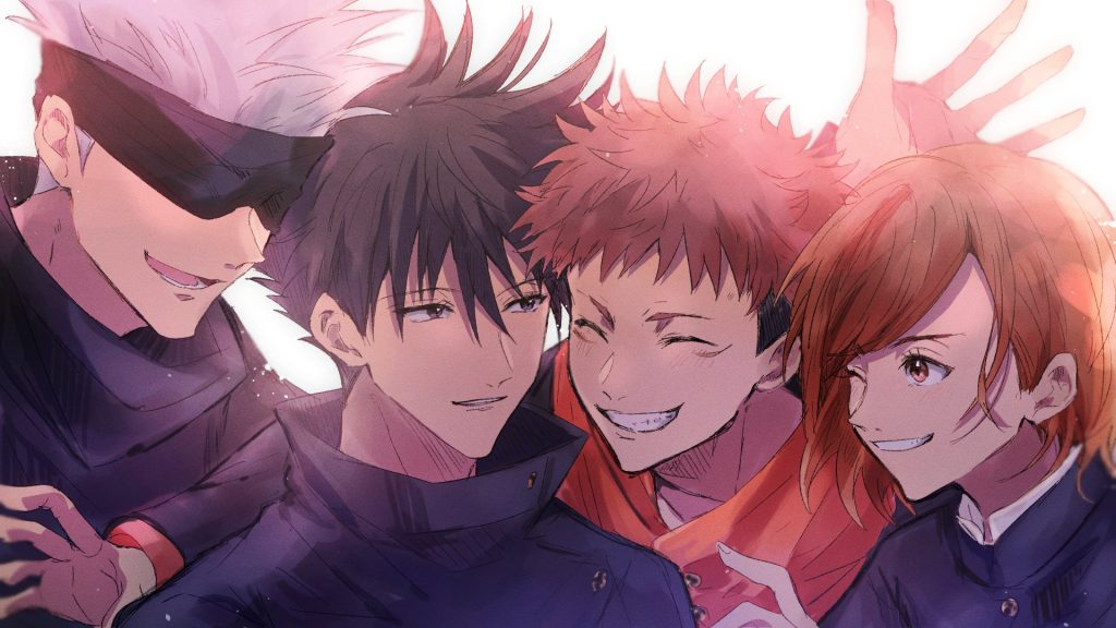 best anime groups of 4