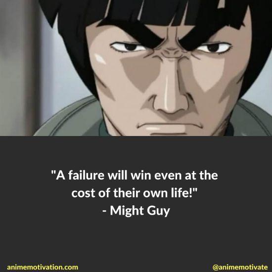 might guy quotes naruto 6