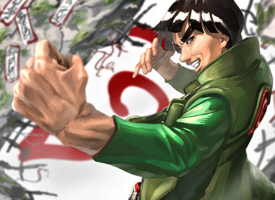 Might Guy Wallpaper Naruto