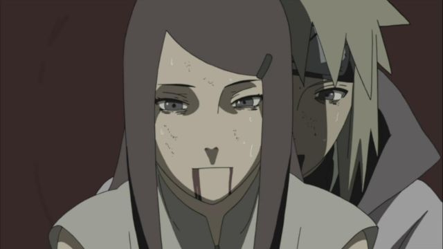 minato and kushina death
