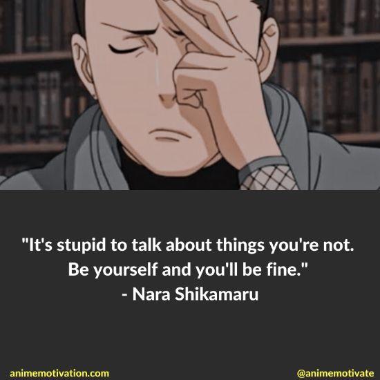 nara shikamaru quotes naruto