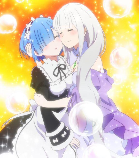 rem and emilia cute 1