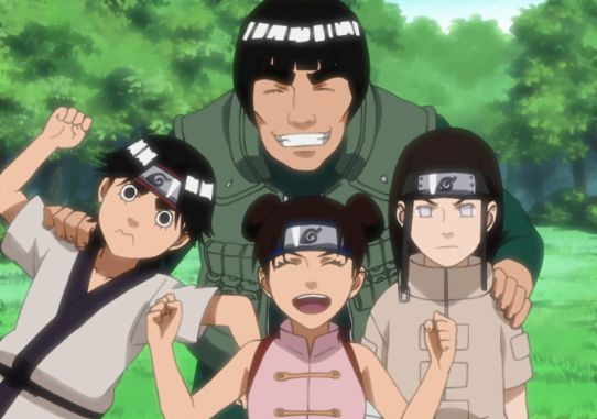 team guy naruto characters 1