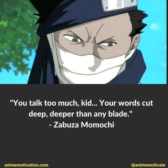zabuza momochi quotes naruto 8