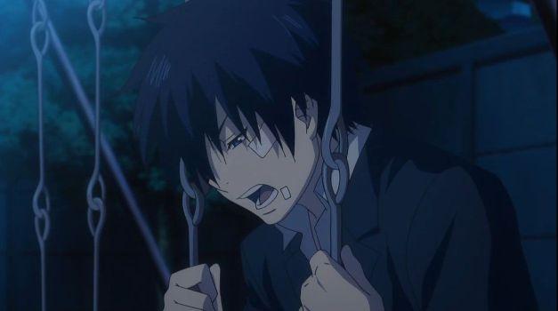 Blue Exorcist rin okumura swing