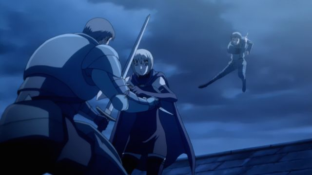 Claymore anime series moments fight