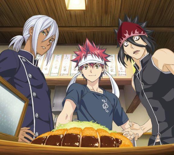 Food Wars anime moments soma