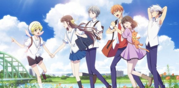 Fruits Basket characters NEW series