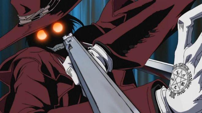 Hellsing Ultimate alucard gun eyes