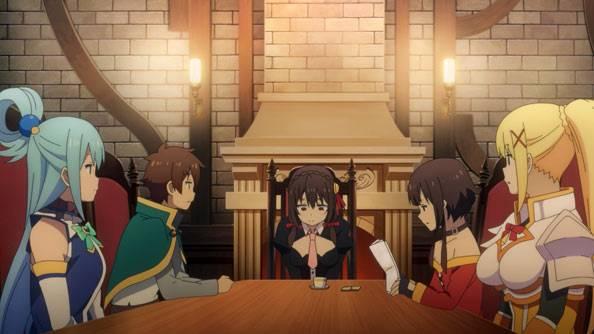 Kono Subarashii table