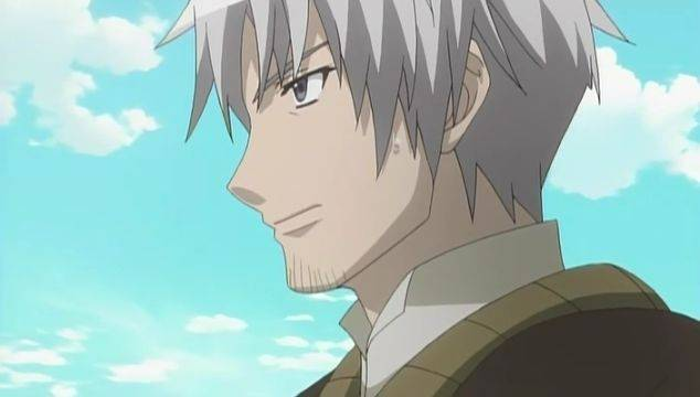 Kraft Lawrence Spice And Wolf white hair