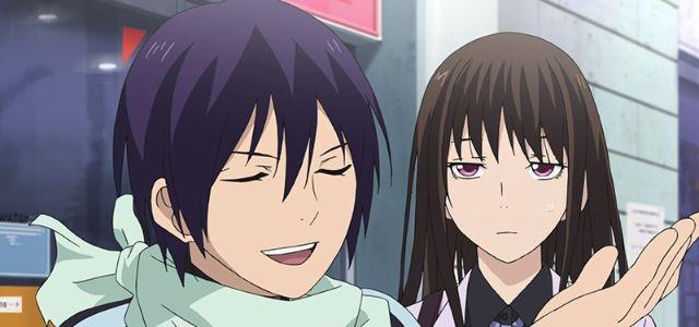 Noragami yato and hiyori funny
